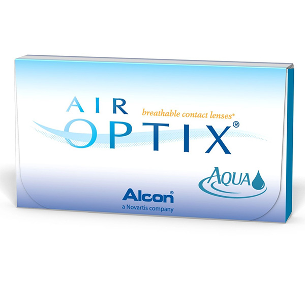 Air Optix Aqua (3 линзы)